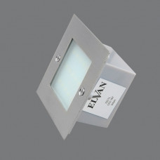 5901L-4000К Светильник встраиваемый светодиодный LED 3W(105*105*55)