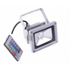 Светодиодный прожектор 10W IP65 220V RGB